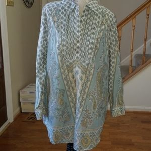 Soft surroundings tunic pastel colors